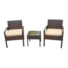 this is a contemporary outdoor wicker chair and ottoman set made rh pinterest com au