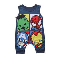 Baby Hero Romper