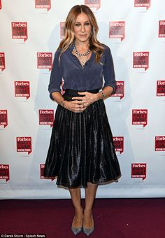 Learning curve: Sarah Jessica Parker spoke at the 2016 Forbes Women's Summit on…