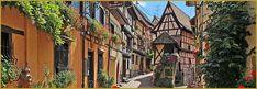 Alsace, Photos Panoramiques, Holy Roman Empire, Château Fort, Beaux Villages, Great Power, Luxembourg, Photos Du, Belgium