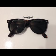 Ray-Ban SunglassesNEW LISTING Only worn twice. 100% Authentic Ray-Ban Sunglasses. Features turquoise design. Includes box, booklet, cloth, and case. Very cute! Ray-Ban Accessories Sunglasses