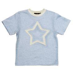 "MeMini - T-skjorte ""Star T-shirt"" Star, Boys, Mens Tops, T Shirt, Women, Fashion, Baby Boys, Supreme T Shirt, Moda"