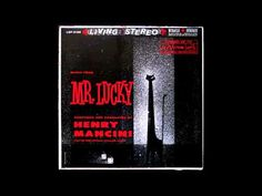 """Henry Mancini """"Mr. Lucky"""" Henry Mancini, Music Songs, Music Videos, Easy Listening Music, Dramatic Music, Sound Library, Bobby Darin, Music Clips, Deck Of Cards"""