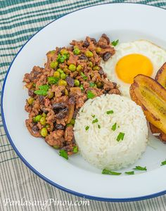 Arroz a la Cubana Recipe