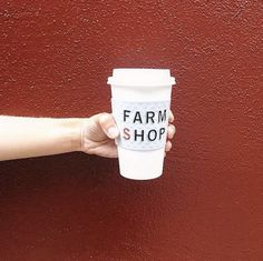 #FarmshopLA Don't start your Monday without a nice hot cup of coffee! #Farmshop / Photo credit: @southernmeetschic www.farmshopca.com