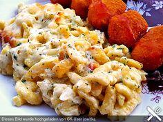 Käse - Spätzle - Auflauf (Rezept mit Bild) von Kuestenluemmel   Chefkoch.de