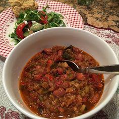 Vegetarian Quinoa Chili - BreastCancerConqueror.com/ Healing Breast Cancer/ Natural Cancer Cures/ Recipes for Cancer Patients