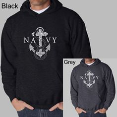 @Overstock - Show your support for the Navy with Los Angeles Pop Art hooded sweatshirt  Men's apparel has a US Navy design created using the Anchors Away lyrics  Comfortable hoodie is perfect for almost any occasionhttp://www.overstock.com/Clothing-Shoes/Los-Angeles-Pop-Art-Navy-Mens-Hoodie/4324349/product.html?CID=214117 $36.49