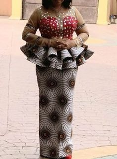 Nigerian Lace Styles Dress, African Lace Styles, African Dresses For Kids, African Wear Dresses, African Inspired Fashion, Latest African Fashion Dresses, African Attire, African Print Dress Designs, African Traditional Dresses