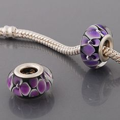 Love these pandora style beads. Planning on making my own bracelet.
