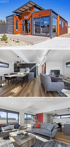 Tiny Container House, Prefab Container Homes, Sea Container Homes, Building A Container Home, Shipping Container Homes, Shipping Containers, Small Country Homes, Casas Containers, Chula