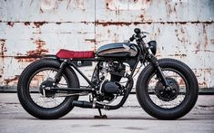 Exceptional Moto bike photos are offered on our internet site. Take a look and you wont be sorry you did. Cg 125 Cafe Racer, Norton Cafe Racer, Modern Cafe Racer, Cafe Racer Honda, Cafe Racer Style, Custom Cafe Racer, Cafe Racer Build, Brat Bike, Honda 125