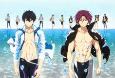El Anime Free! tendrá dos nuevas películas el 22 de abril y el 1 de julio del 2017.