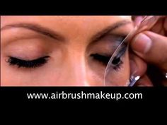 How To Get Smokey Eyes Tutorial With Dinair Airbrush Makeup ♥  Check out the best airbrush makeup here: http://thebestairbrushmakeup.com/