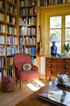Living Room or Study Living Area, Living Spaces, Cosy Home, Living Room Update, Home Libraries, Front Rooms, Room Inspiration, Living Room Furniture, Sweet Home