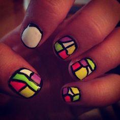 Lollapalooza nails!!