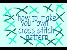 How to make your own cross stitch pattern from a photo