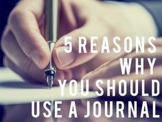 From Benjamin Franklin to Tim Ferriss, so many of the world's most amazingly productive and successful people in the past and present have advocated for using a journal.