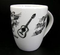 Tasse Gitarre ♫♪ ☕ www.musiker-geschenke.com/Tassen
