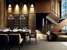 F36 Polair | Fabbian #restaurant