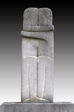 Constantin Brâncuşi, Le Baiser, 1909