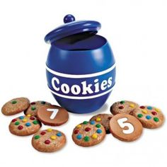 A counting game they can sink their teeth into. Budding minds can learn to count and recognize their with Smart Snacks counting cookies. Page 1 Toddler Gifts, Toddler Toys, Kids Toys, Learning Toys, Learning Resources, Early Learning, Smart Snacks, Learn To Count, Early Math