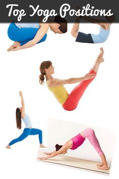Top Yoga Positions #yoga #yogapositions #yogaposes