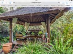 Bali Garden, Pergola, Outdoor Structures, Plants, Futurism, Outdoor Pergola, Planters, Arbors, Balinese Garden