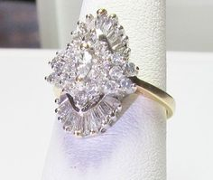 US $300.00 Pre-owned in Jewelry & Watches, Fine Jewelry, Fine Rings