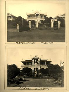 A postcard Hospitals, Family History, Over The Years, Australia, Homes, Mansions, Country, House Styles, Beautiful