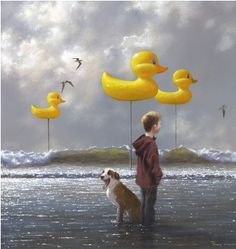 DUCKS IN A ROW BY JIMMY LAWLOR