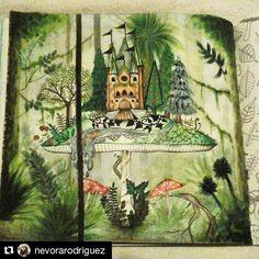 "132 Likes, 4 Comments - #prazeremcolorir_e_desafiar (@prazeremcolorir_e_desafiar) on Instagram: ""Wow The best@nevorarodriguez with @repostapp ・・・ Passing time... #florestaencantadatop…"""