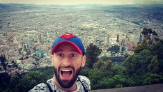 And this is top of Bogotá and 3100m above sea level I've never been so high and it's is surreal experience #bogota #Colombia #monserrat #guy #gay #superman #polisboy #instagay #instagramers #shock #holiday #vacaciones #traveller #beard #mountains
