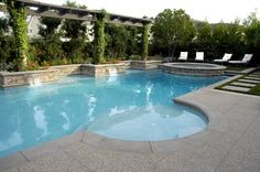 pool with baja   The Green Scene - Award Winning Landscape Design and Construction ...