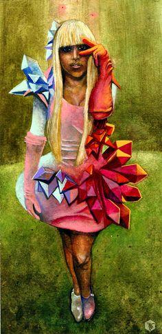 Lady Gaga by Kevin Bongang. dope