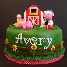 `Serendipity Cake Design: Barnyard Birthday!