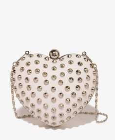 Love this Spiked Heart Minaudiere from @Forever 21 - and so will she!