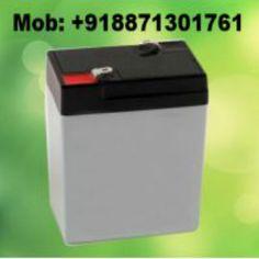 Get best quality 6v 4.5ah Sealed Lead Acid Battery In India online. bit.ly/1n0cEyu
