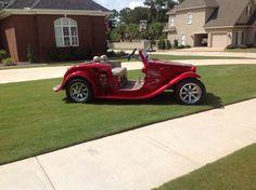 Bama golf cart