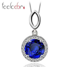 http://rubies.work/1023-multi-gemstone-ring/ 2.5ct Blue Sapphire Necklaces