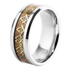 2016 New Design Fashion Vintage, Biker, Masonic jewelry Rings Stainless Steel Cool punk ring For Mens Boys Jewelry(China (Mainland))