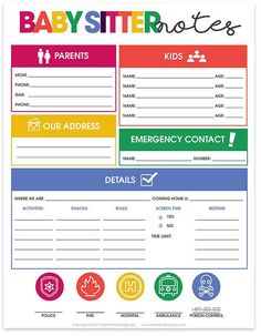 Life Management Binder - Sitter Training (Training to Become the Best Baby-Sitter) - Babysitting Babysitter Printable, Babysitter Checklist, Babysitter Notes, Babysitting Kit, Babysitting Activities, Babysitting Flyers, Newborn Schedule, Household Binder, Household Notebook