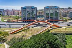 Ponte Segunda Circular, Lisbon, Portugal | Maximina Almeida and Telmo Cruz of MXT Studio