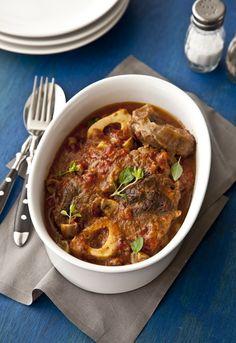Receta 762: Osso bucco en salsa con champiñones » 1080 Fotos de cocina