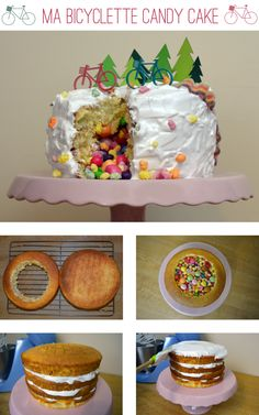 Ma Bicyclette: Recipe | Happy 3rd Birthday - Bicycle Adventure Candy Cake for Ma Bicyclette