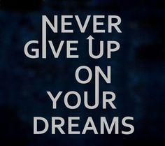 Never do