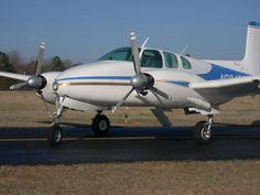 Beechcraft Twin Bonanza D-50.