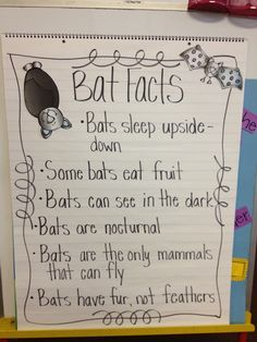 Anchor charts can be content area rich too...organizing facts about a certain topic will help your students absorb that information.