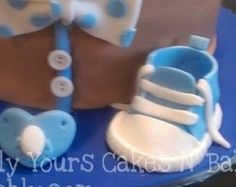 Items similar to pink Fondant shoes cake toppers on Etsy