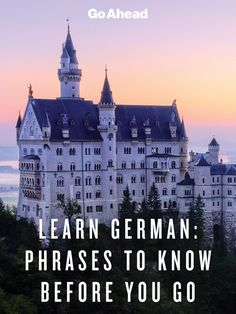 Learn German: Phrases to know before you go #travel #tips #german